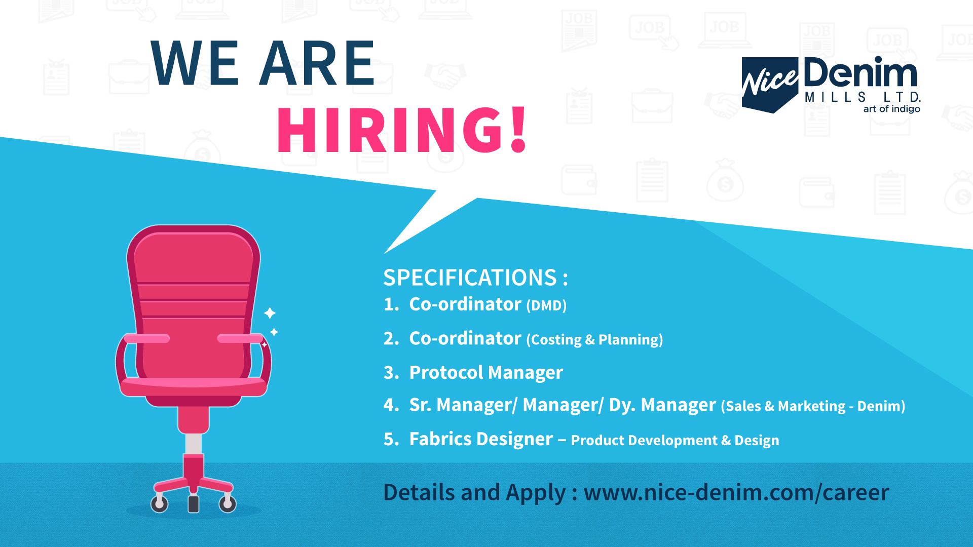 Career With us